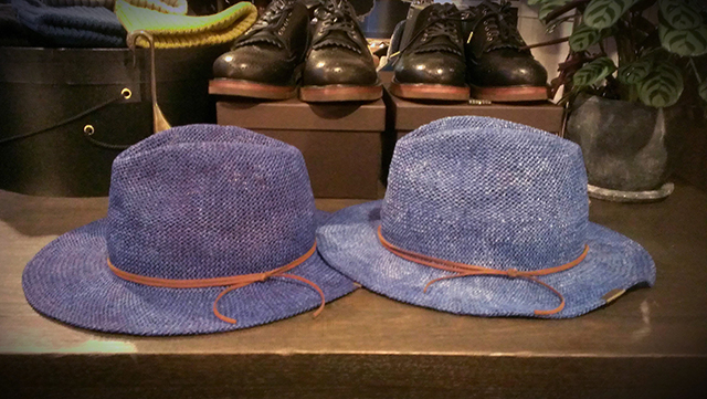 INDIGO STREW HAT