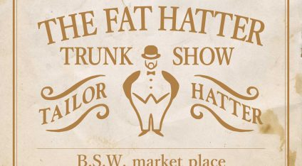 THE FAT HATTER TRUNK SHOW @B.S.W. market place _ 大阪